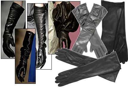 Модные перчатки   зима 2010