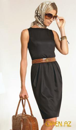 Как и с чем носить платье футляр