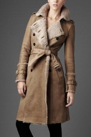 Модные дублёнки   зима 2011