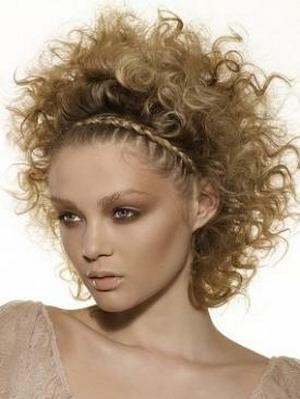 Новогодние причёски 2011