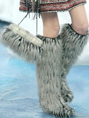 Модные валенки   зима 2011