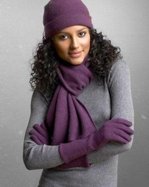 Как носить шарфы и палантины