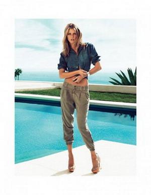 Как и с чем носить брюки капри?
