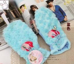 Модные перчатки   зима 2012