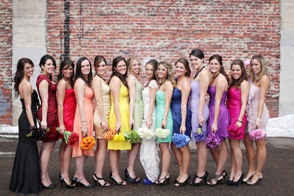 Свадебный дресс код. Что надеть к подруге на свадьбу?