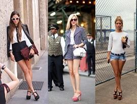 Как и с чем носить шорты