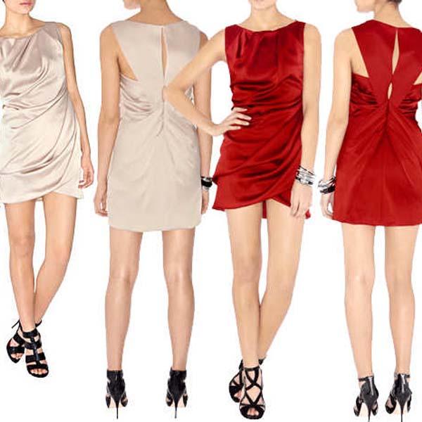 Как и с чем носить мини платье?