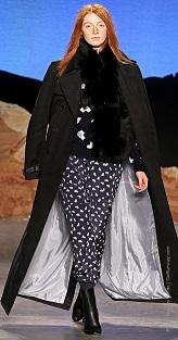Лучшие модели пальто Cocoon 2012