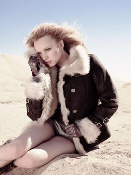 Модные дублёнки   зима 2013