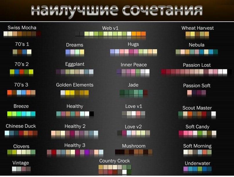 Что такое цветовые блоки (colorblocking) и как их составлять?