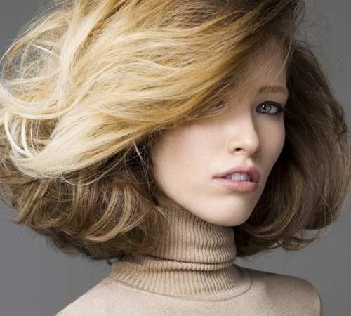 Модные причёски   зима 2013