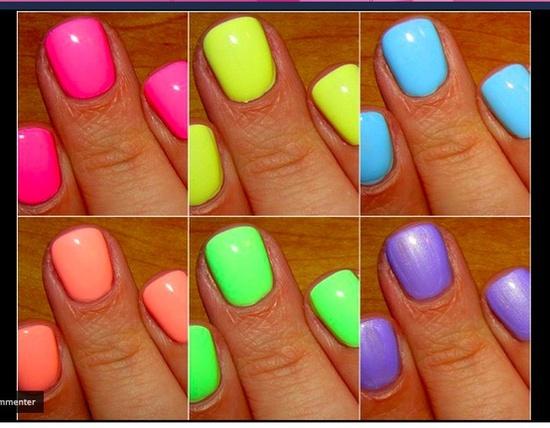 Сочетаем цвета на ногтях