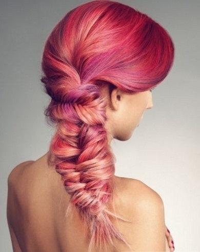 Цветные мелки для волос. Подробная инструкция окрашивания волос