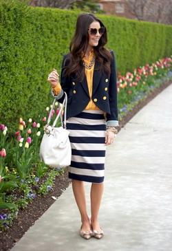 Осенний гардероб для деловой девушки