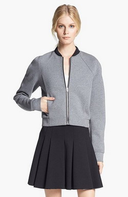 Куртка бомбёр   стильный вариант для осенней погоды