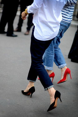 Как правильно подворачивать джинсы