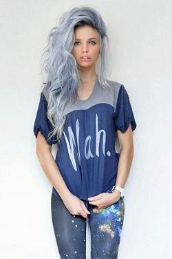 Яркие эксперименты с волосами или как я однажды покрасилась в синий цвет