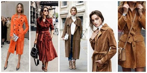Модная вещь 2016   замшевый плащ